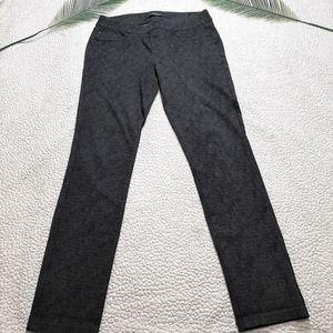 Liverpool Olive Black Chevron Jeggings Pants 6